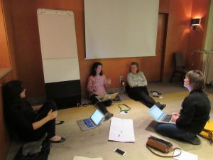 Photo: Day 02: Preparation for skill sharing session.