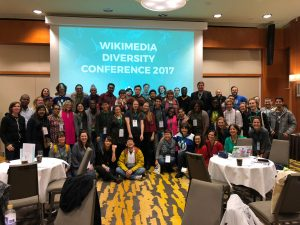 Photo: Wikimedia Diversity Conference 2017 - Group Pic, by AbhiSuryawanshi, Licensed under Creative Commons Attribution-ShareAlike 4.0 International
